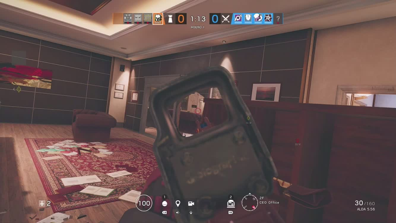 Rainbow Six: General - 1v4 clutch ranked  video cover image 0