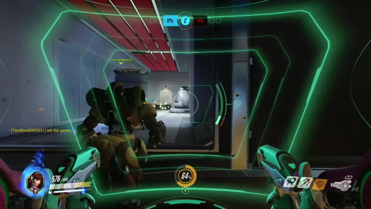 Overwatch: General - Welp here is another almost team kill with D.VA!! video cover image 1
