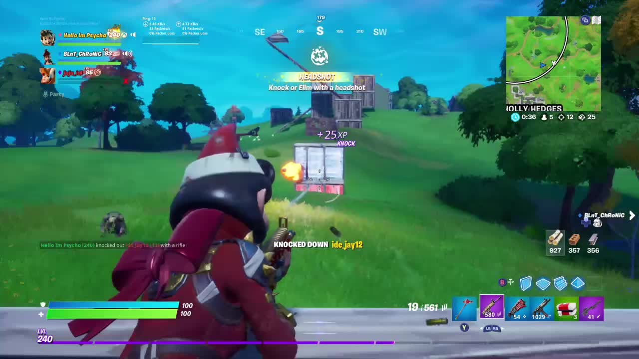 Fortnite: Battle Royale - Almost A 30 Bomb In Squad Fills🥇 video cover image 0