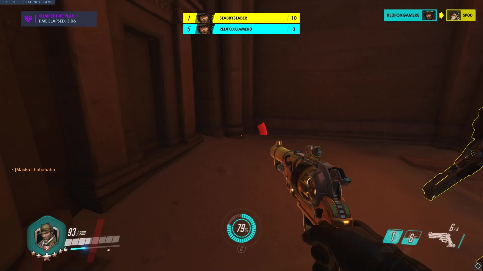 Overwatch: General - Just chilling in deathmatch. video cover image 1