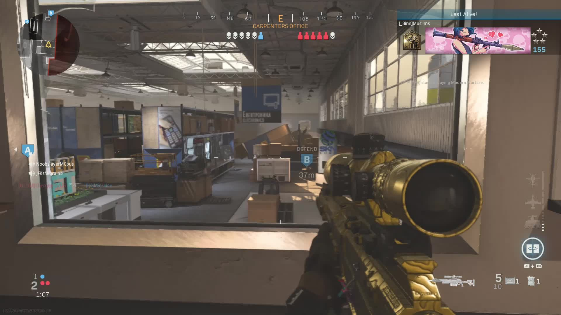 Call of Duty: General - 1v5 cause the 6th left😪 video cover image 0
