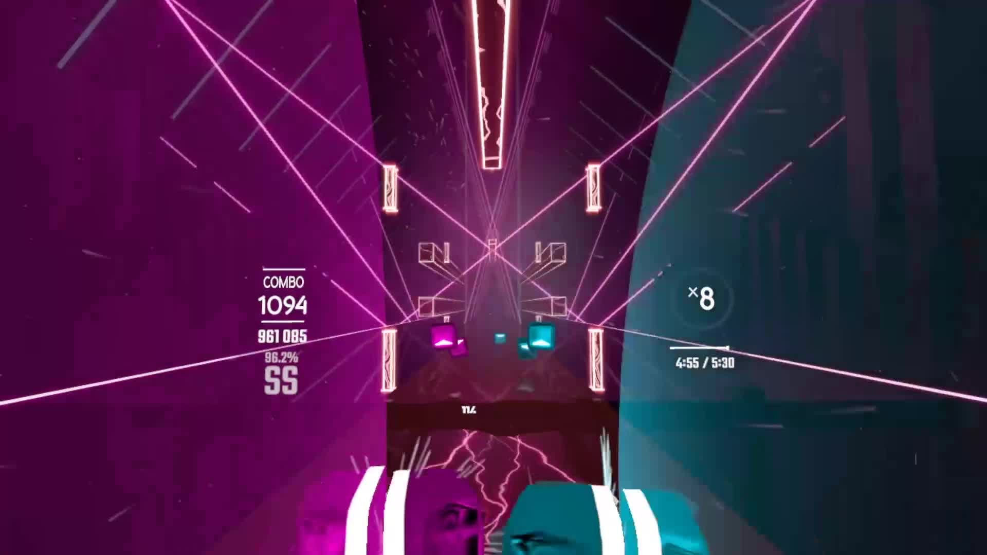 Indie Games: General - These wall maps in Beat Saber are getting to be pretty insane (and pretty 😍) video cover image 0