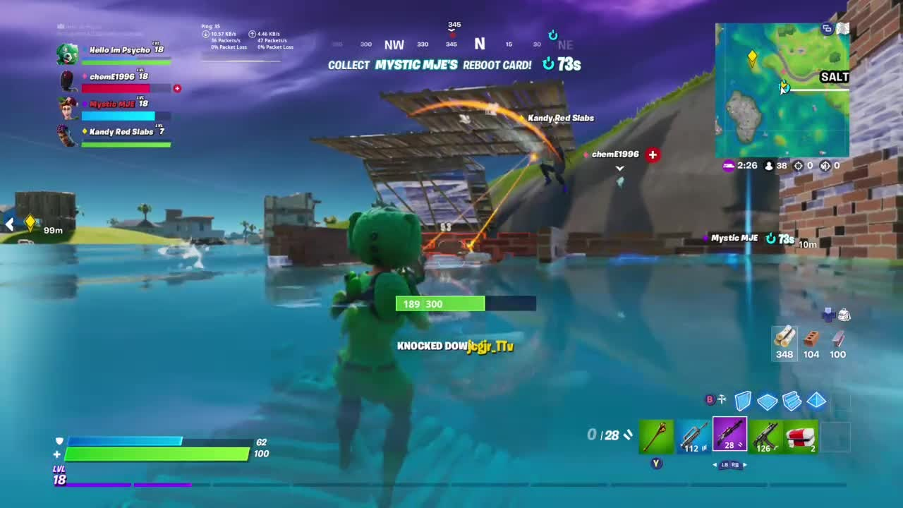 Fortnite: Battle Royale - Doggy Paddle 🐕 video cover image 0