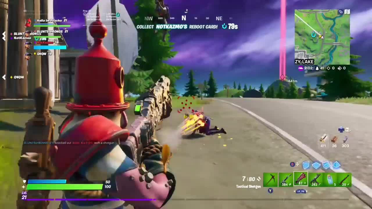 Fortnite: Battle Royale - I Killed A Wenegade Waiduh!😱 video cover image 0