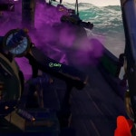 Getting attacked by GALLEON skeleton, Kraken, and Megalodon all at the same time loving it