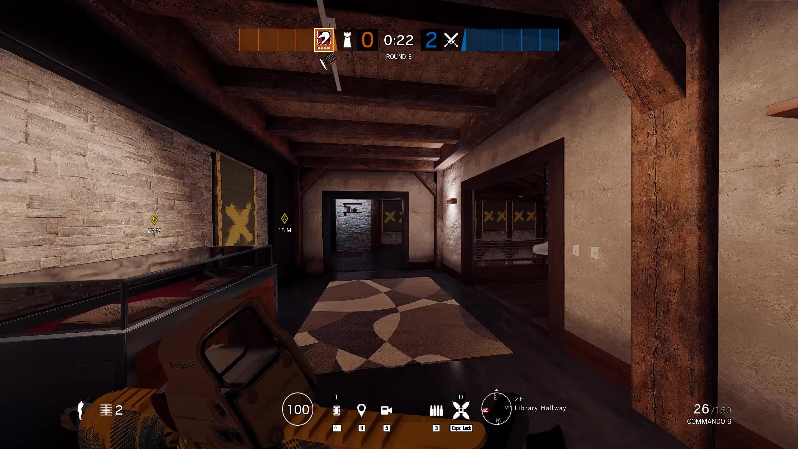 Rainbow Six: Guides - Guide to Playing Mozzie on Chalet video cover image 15