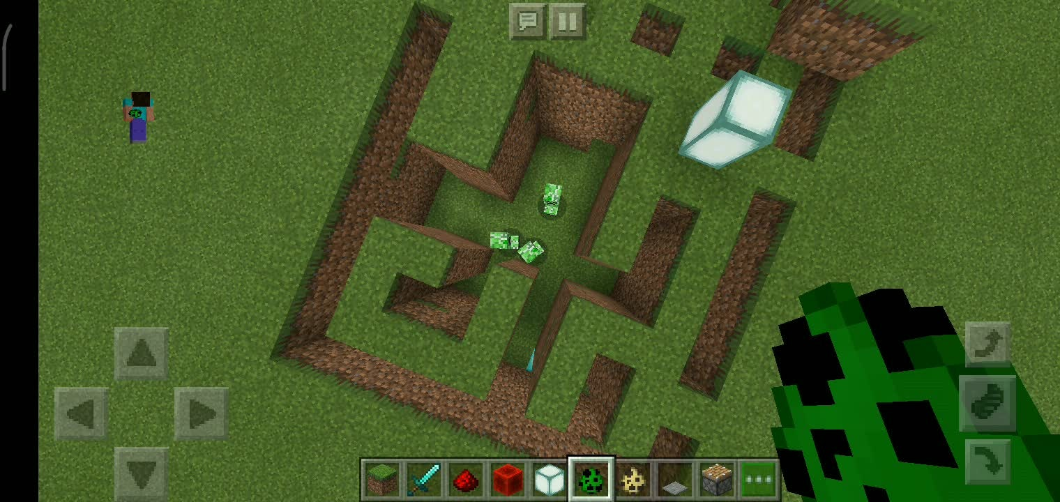 Moot: Questions & Suggestions - Minecraft pe Meme viral creeper Mase  video cover image 1