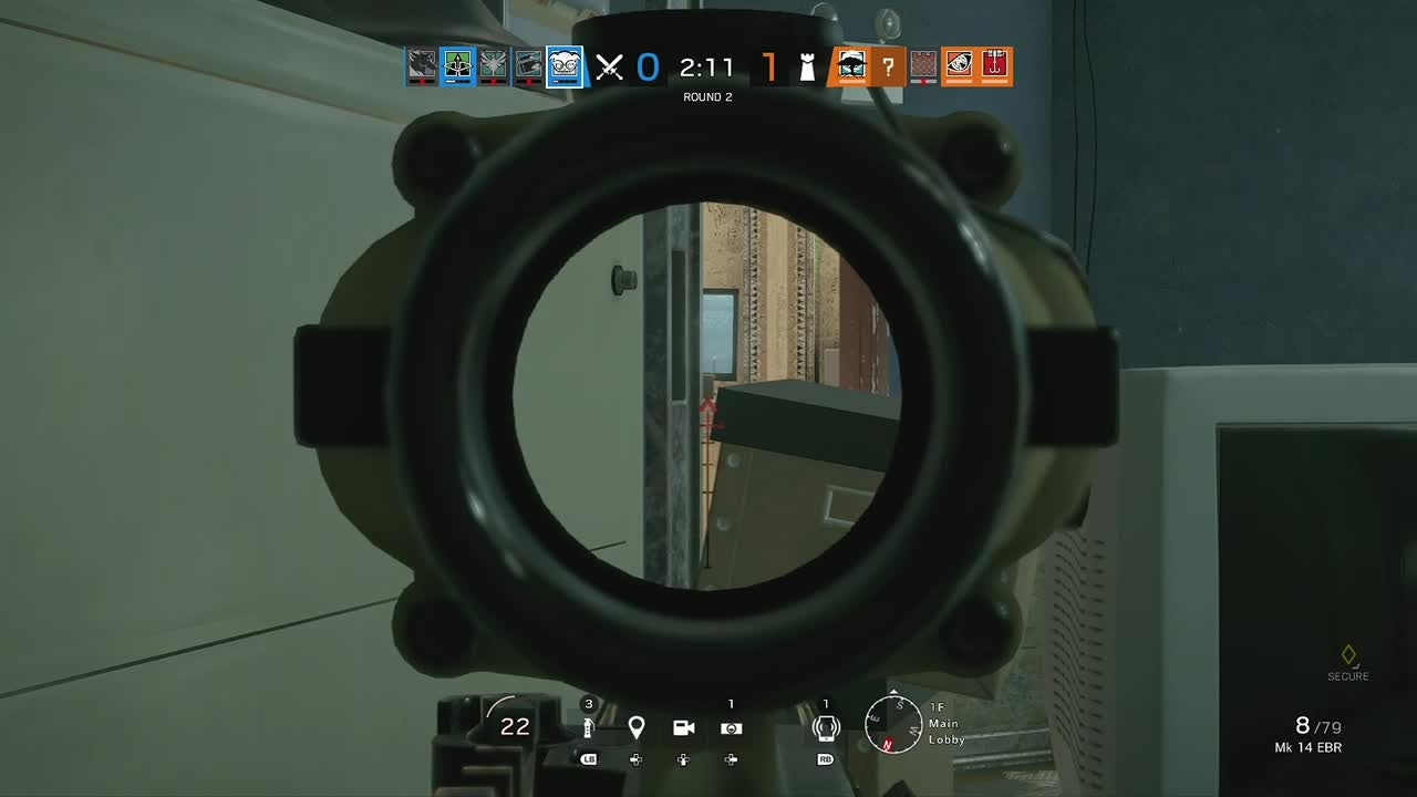 Rainbow Six: General - Last shot was so lucky 😂 video cover image 0