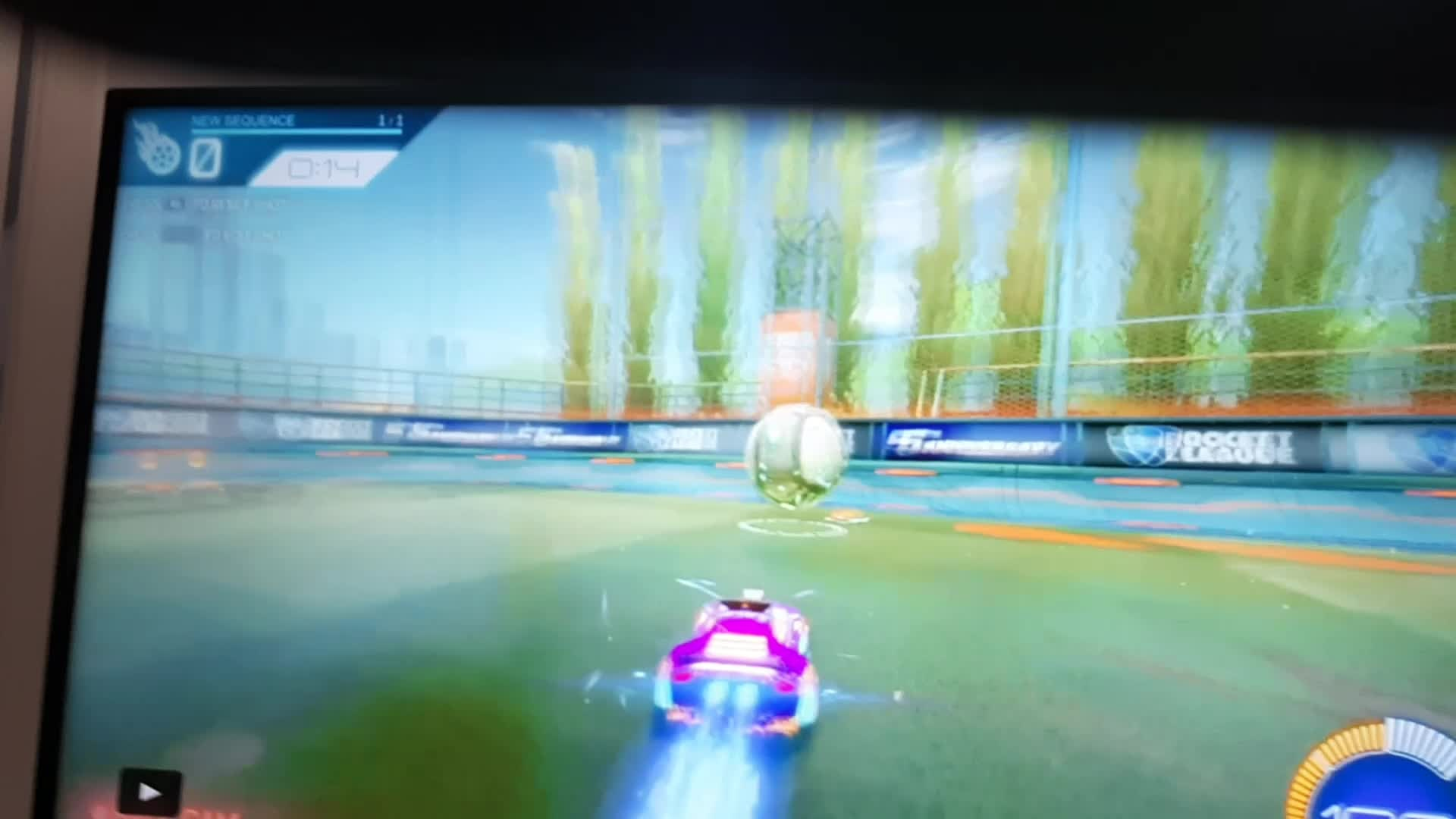 Rocket League: General - Is this a  ceiling shot reverse musty ?? video cover image 1