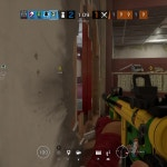 this guy had no clue a wall bang was coming