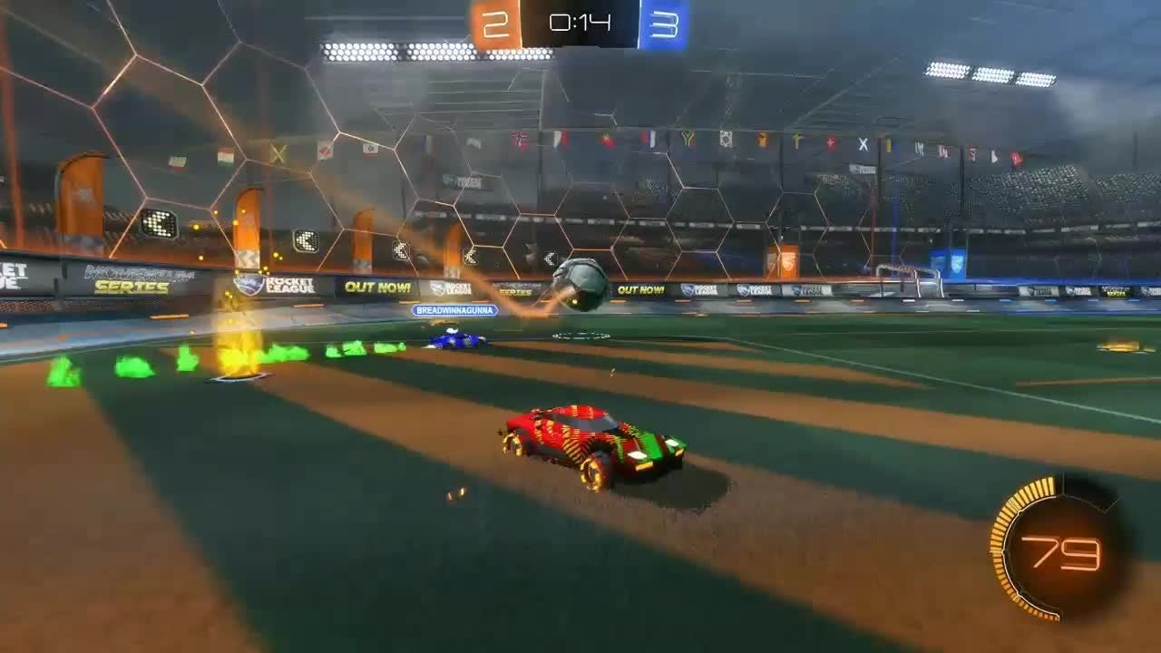 Rocket League: General - To tie the game in the last few seconds my first ever kuxir pinch video cover image 0