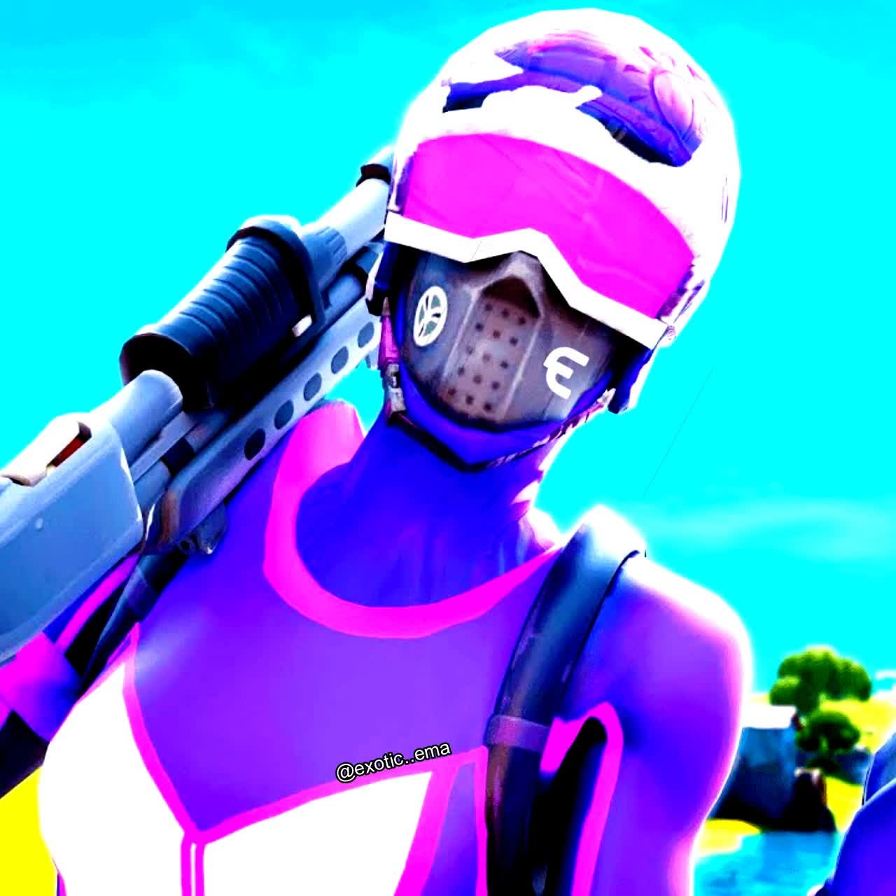 Fortnite: General - this is actually gon be my pfp (tiktok is exotic..ema) and pls follow my tiktok it would mean alot  video cover image 1