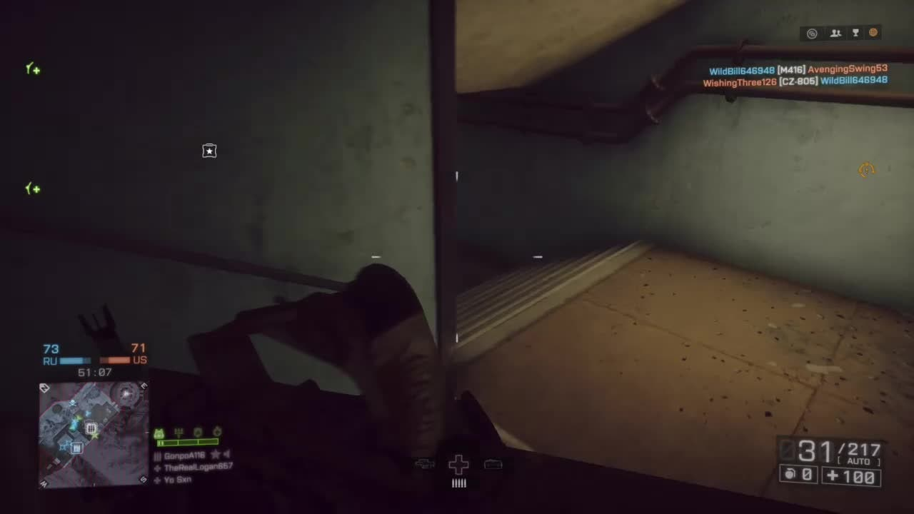 Battlefield: General - Triple Kill With The L86A2 video cover image 1