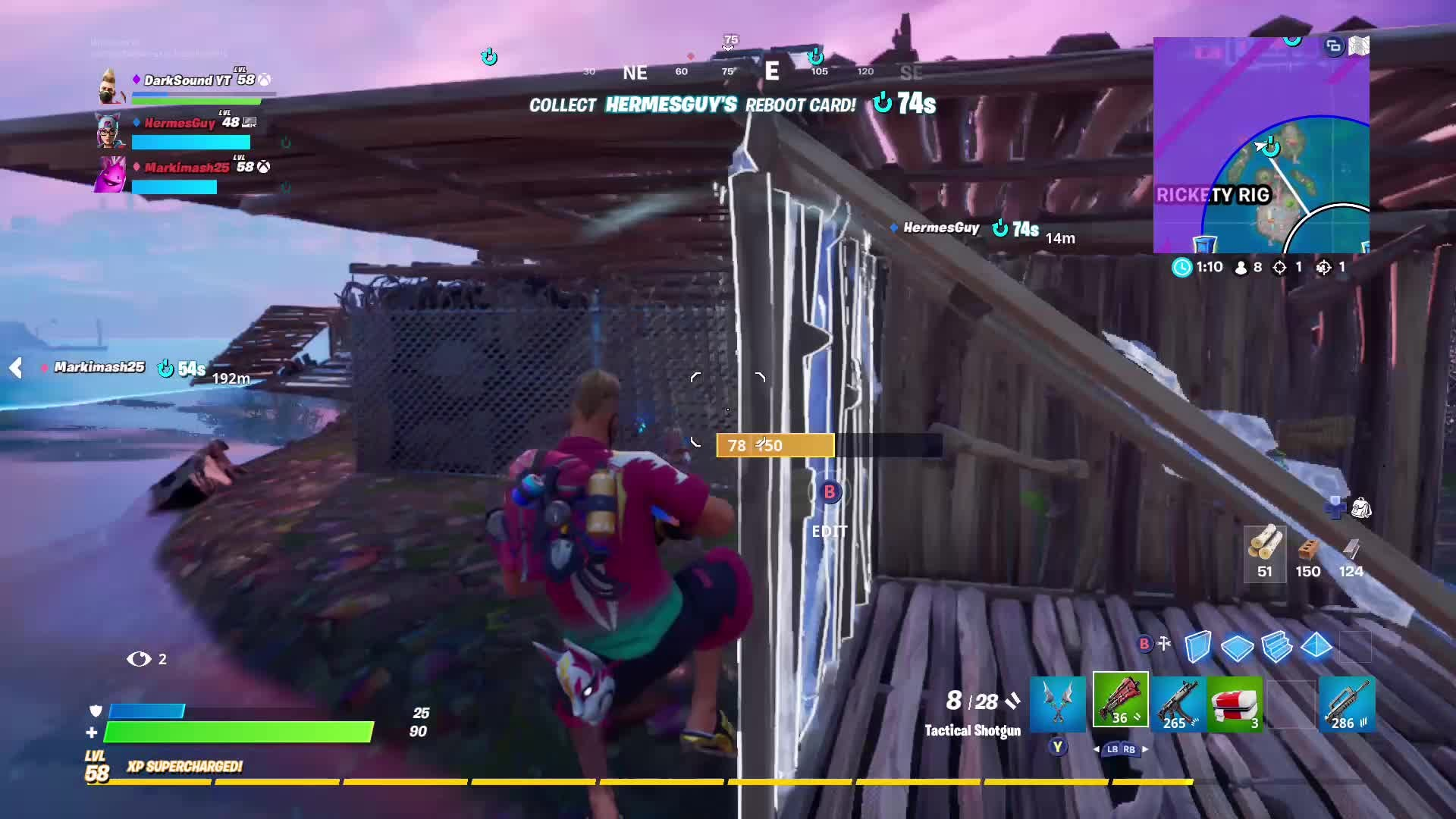 Fortnite: Battle Royale - The Shark really did me in... video cover image 1