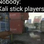 Kali stick players