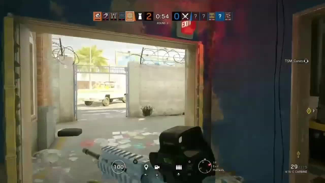 Rainbow Six: General - This Is How People Scream When I Shoot At Them 😂 video cover image 0