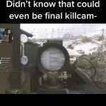 This is the beat final killcam I've ever seen.