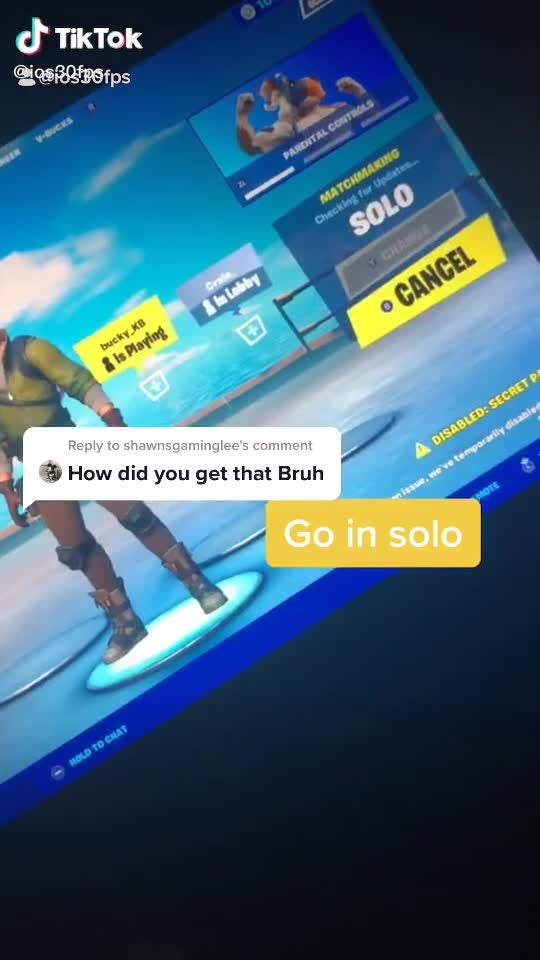 Fortnite: Battle Royale - U HAVE TO DO IT video cover image 1