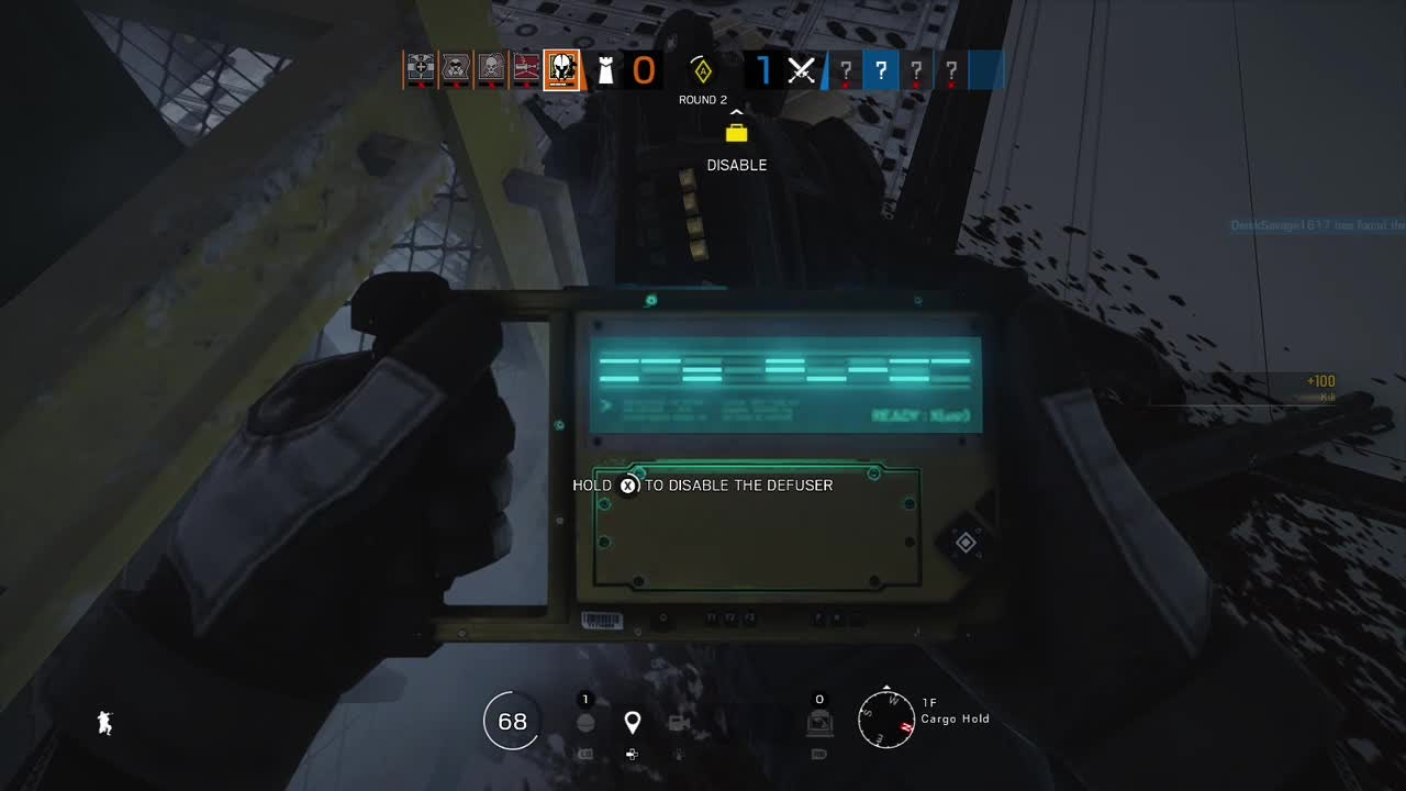 Rainbow Six: General - This scared me but I was lucky video cover image 0