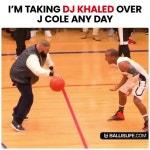 Thinking About DJ Khaled Ballin🏀