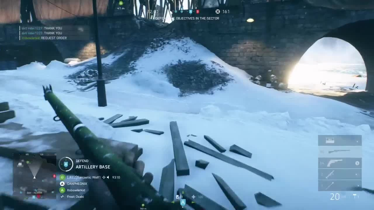 Battlefield: General - battlefield v 6 kill in seconds video cover image 0