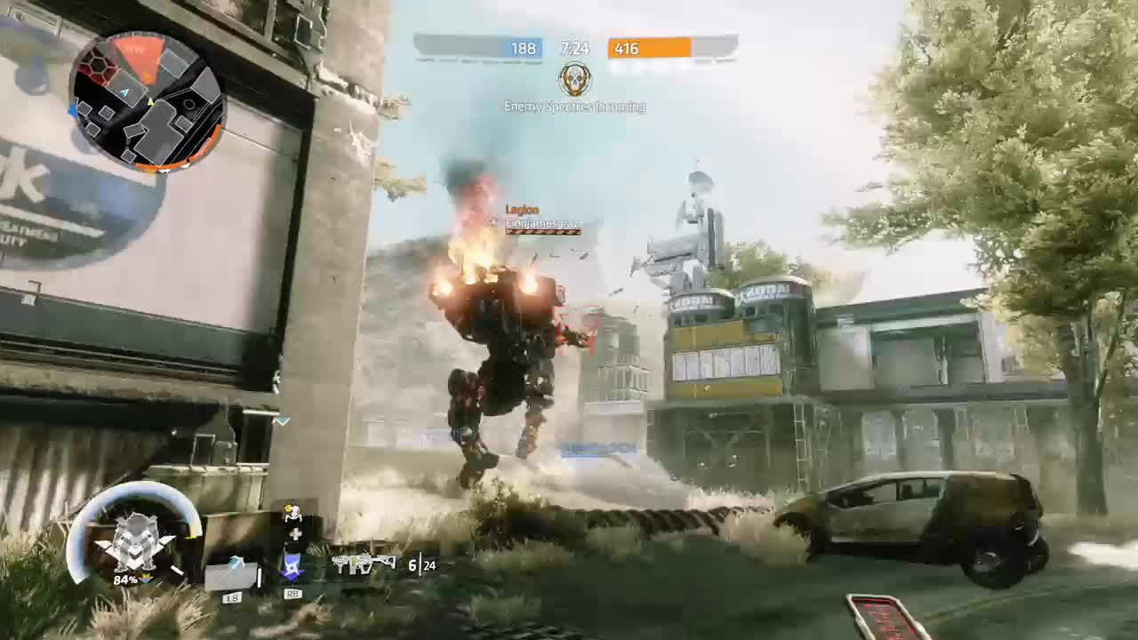 Titanfall: General - Death by titan video cover image 0