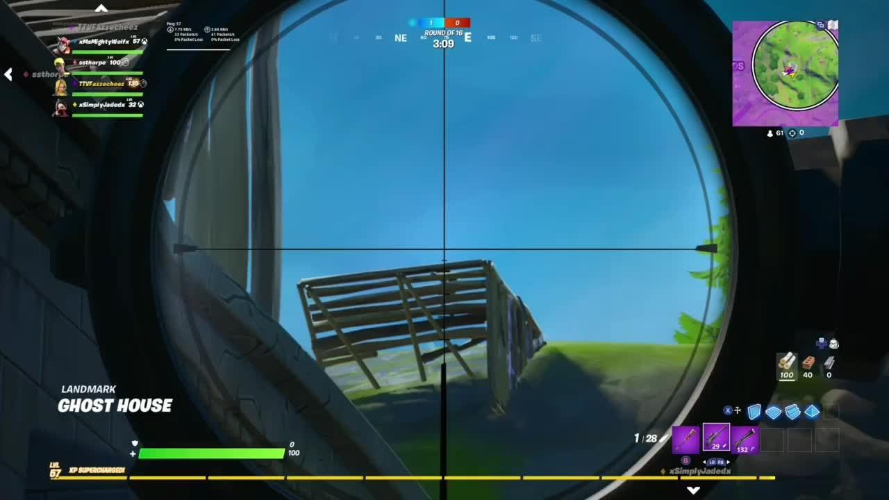 Fortnite: Battle Royale - Snipe Montage 😈 video cover image 1