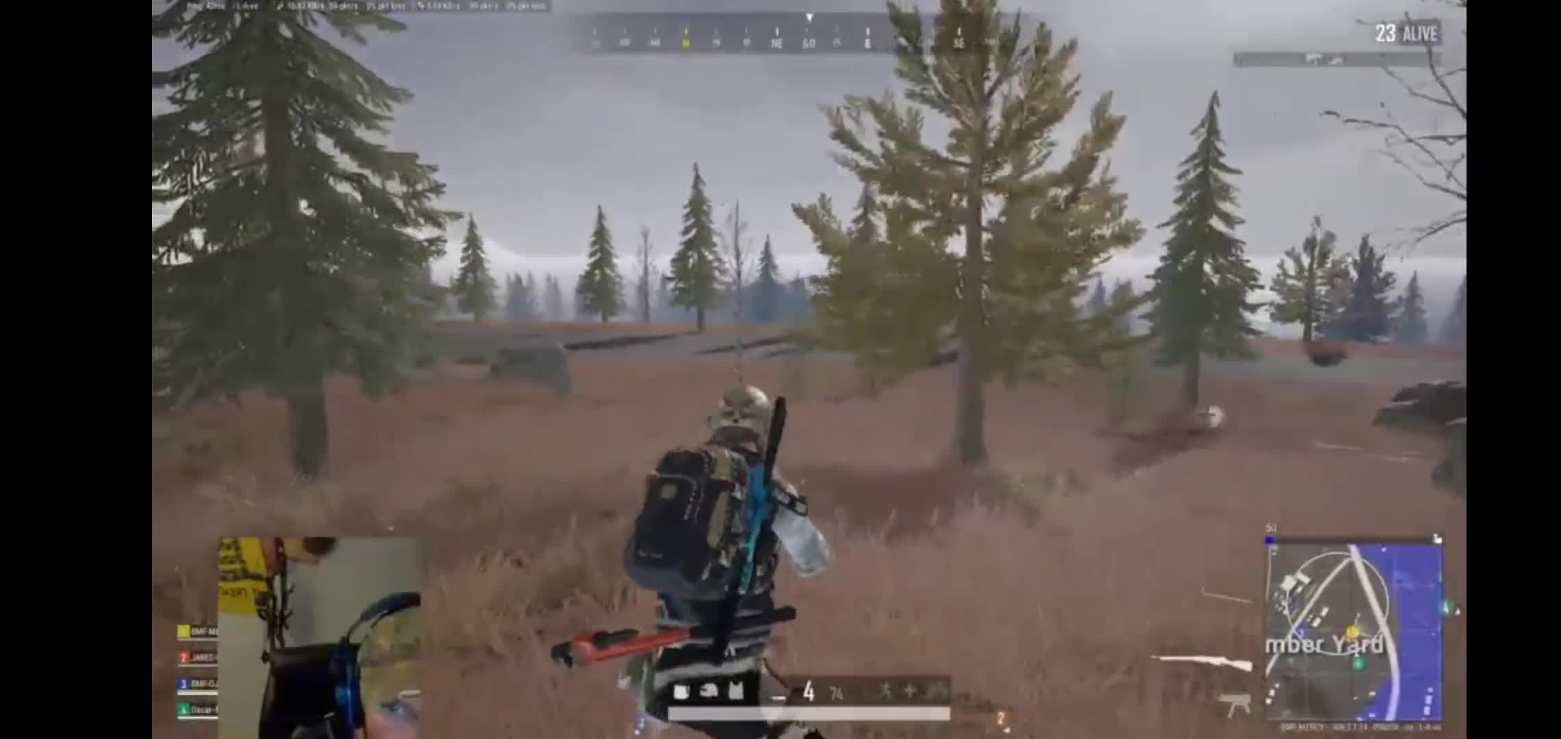 PUBG: General - Highlights From the the stream earlier back to back head shots with the Mosin!!  video cover image 0