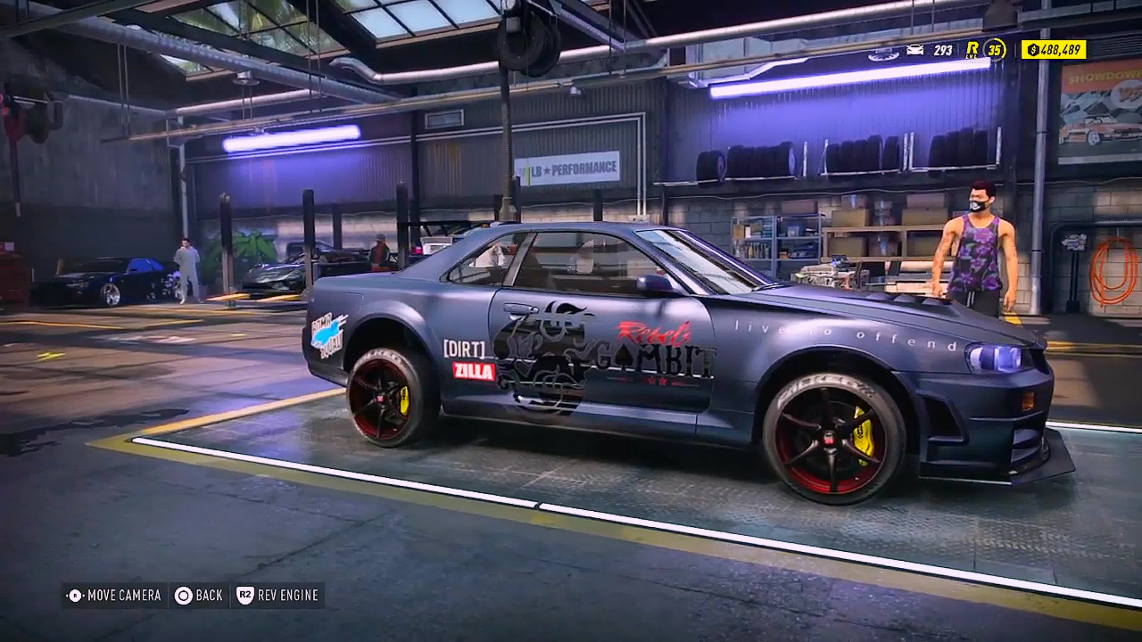 Need For Speed: General - Rally Spec R34 (DIRT ZILLA) says hi \(^•^) ( Oo\__SKYLINE__/oO ) video cover image 0
