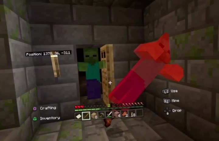Minecraft: Memes - Minecraft Vr is a horror game video cover image 1