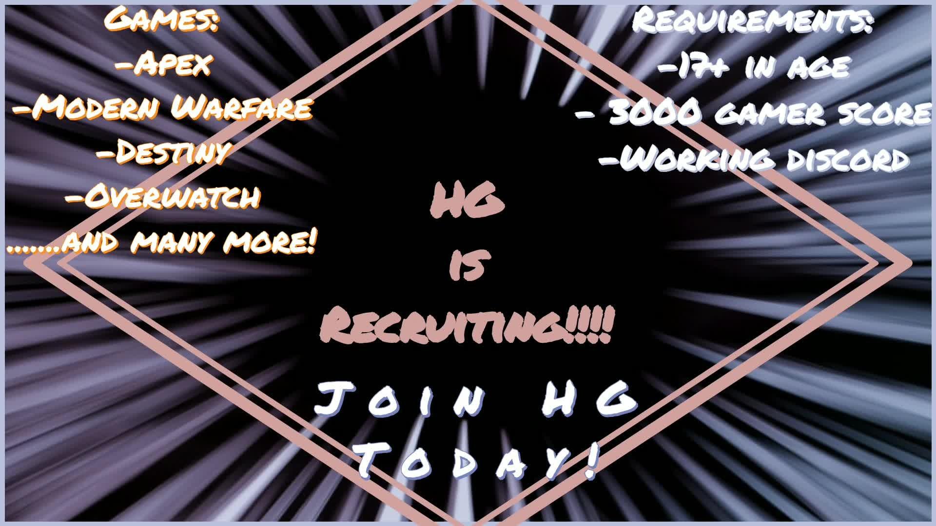 Destiny: Promotions - Recruitment! video cover image 1