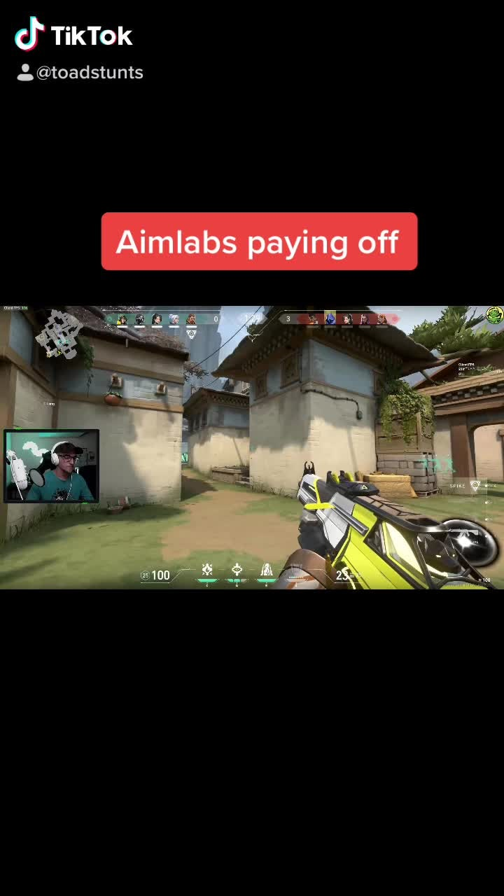 Valorant: Posts - Aimlabs? video cover image 0