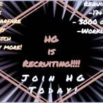 Recruitment!