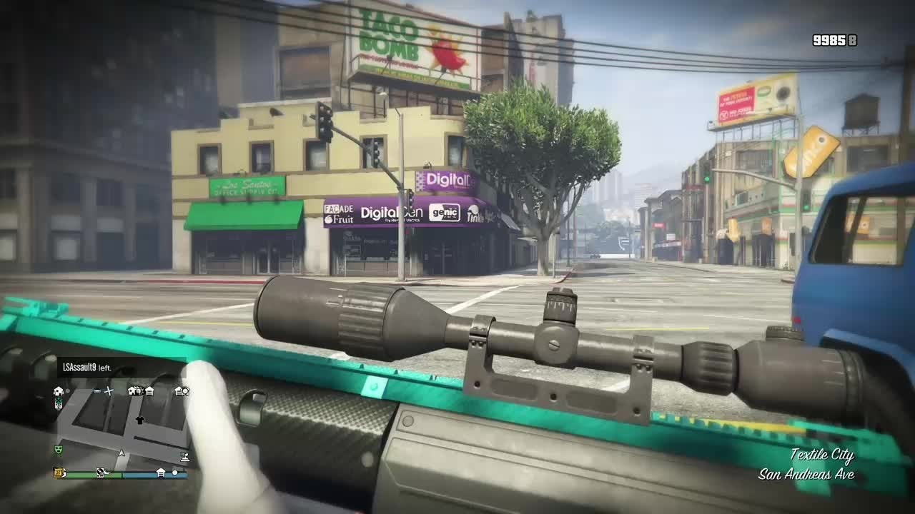 GTA: General - Damn my man got sniped  video cover image 0