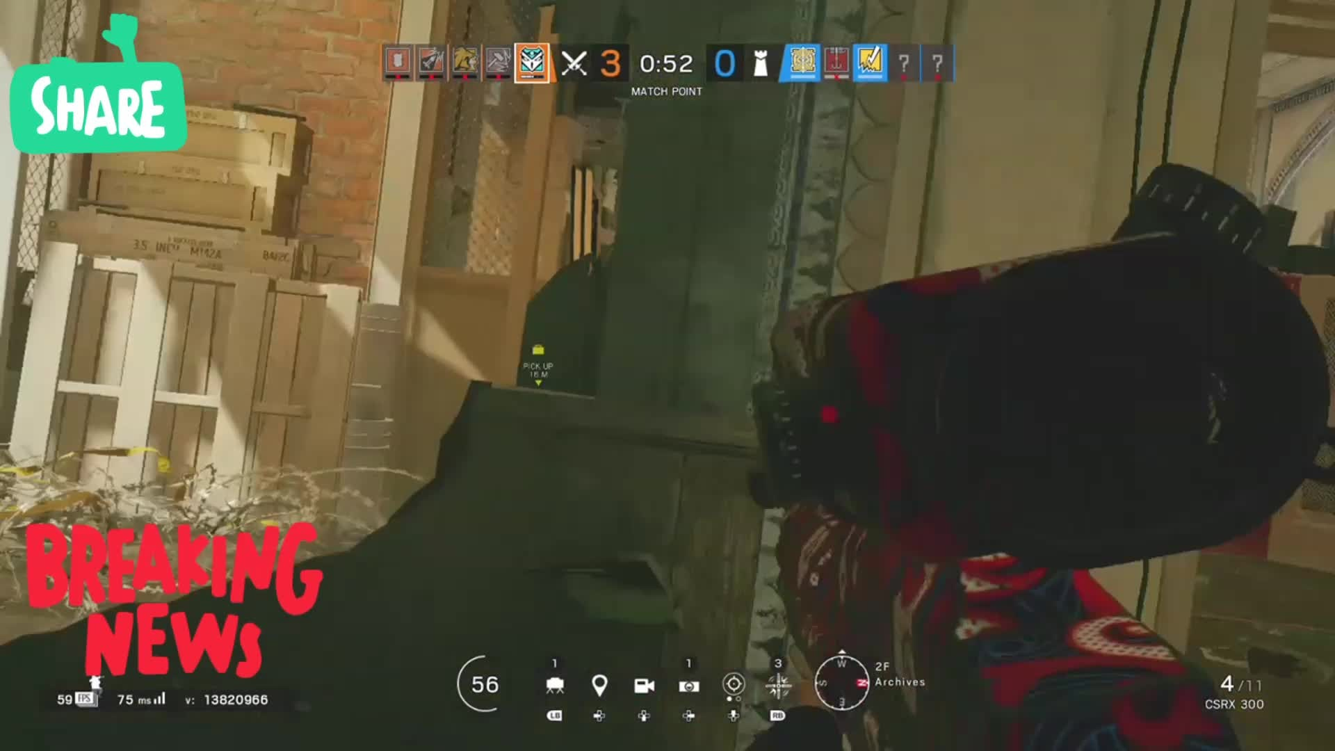 Rainbow Six: General - Insane plays/ Kali Qs video cover image 0