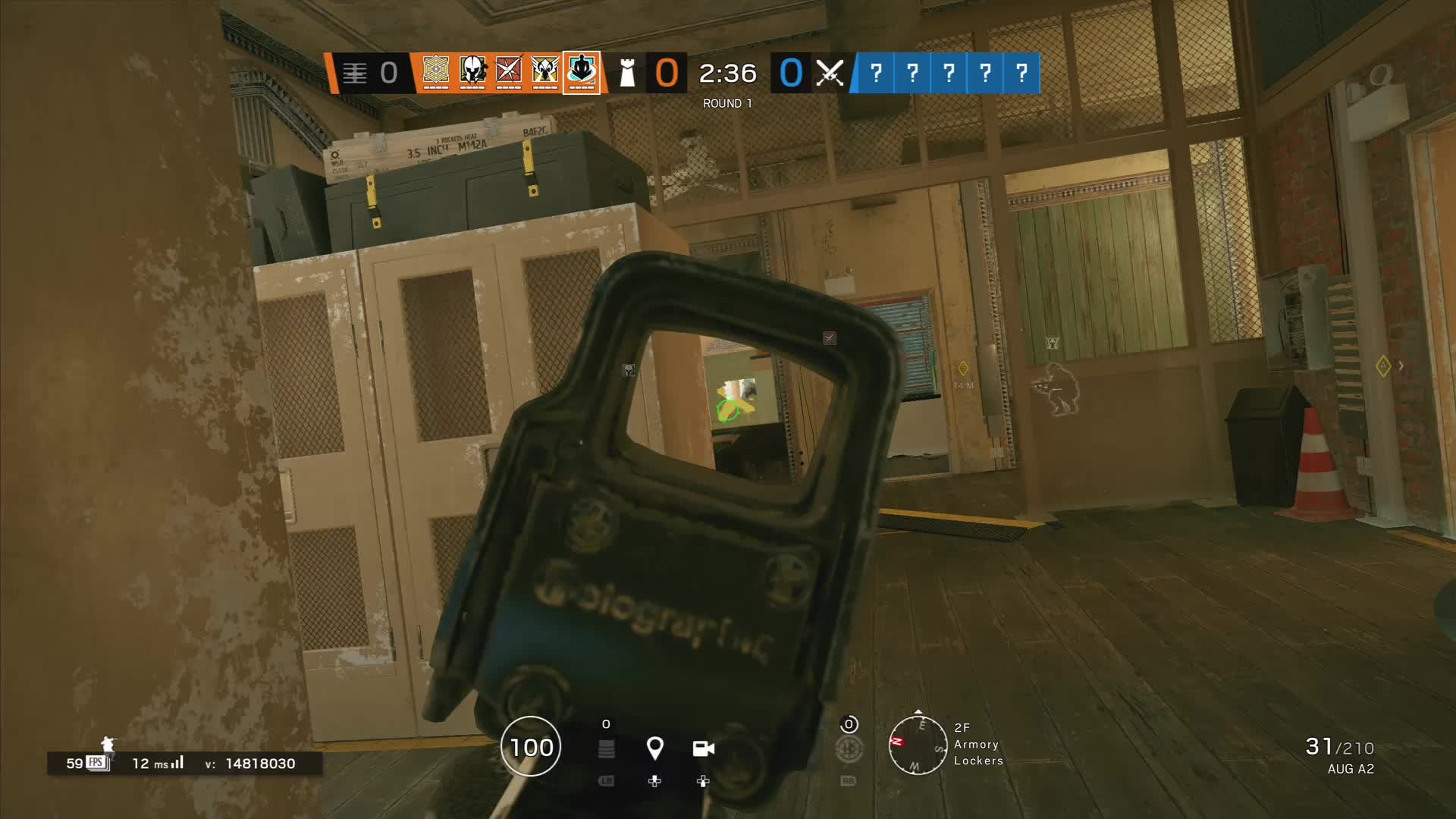 Rainbow Six: General - Crazy pistol kill while flashed video cover image 0