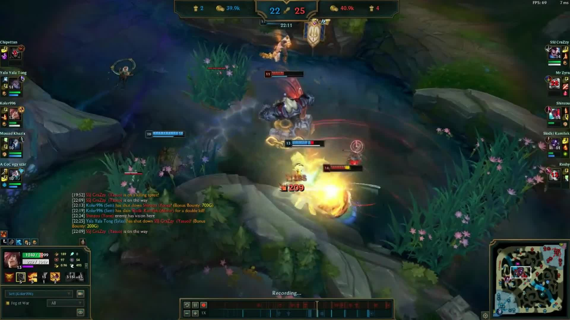 League of Legends: General - Nothing special but I enjoyed the catch at the end video cover image 0