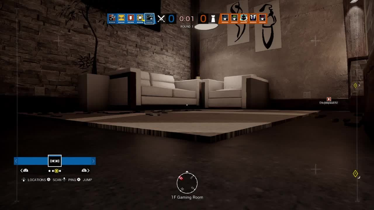 Rainbow Six: General - 1v4 clutch with buck  video cover image 0