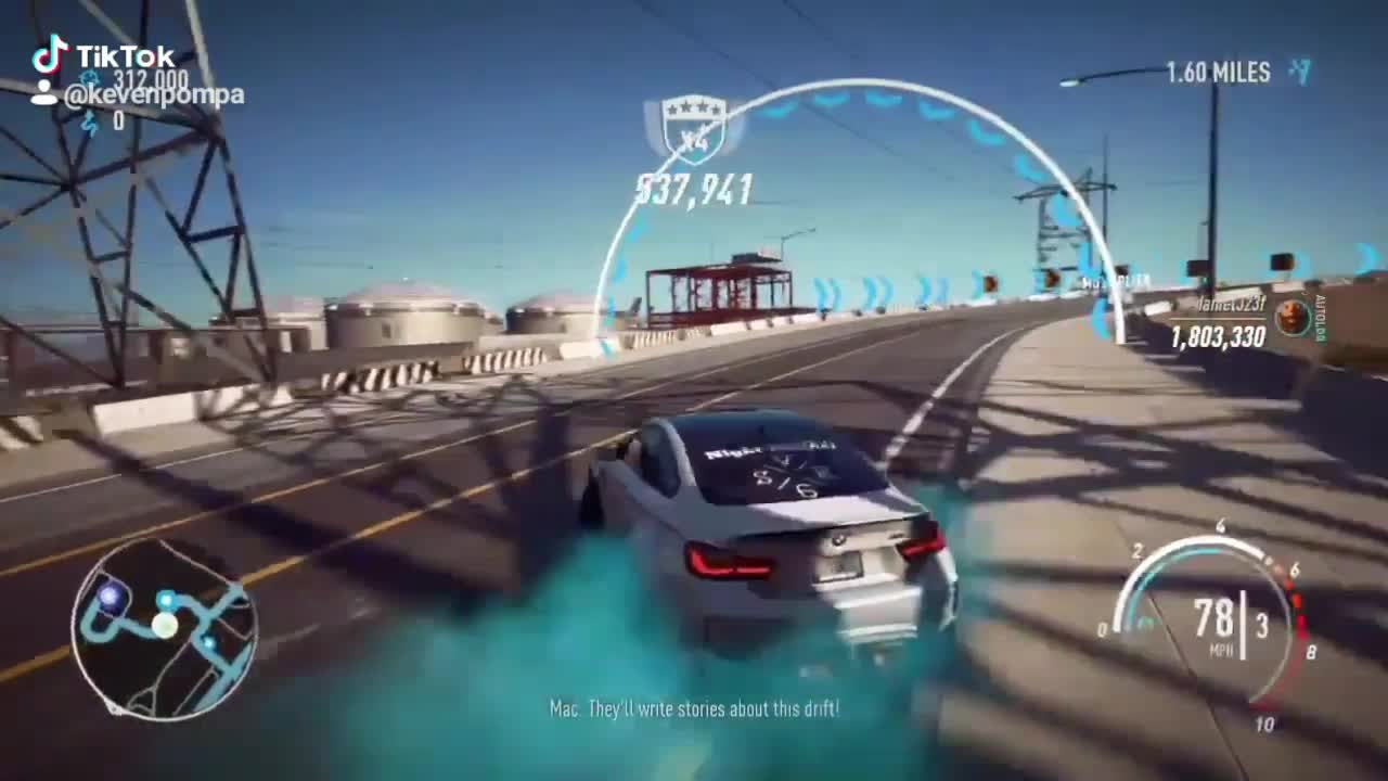 Need For Speed: General - Drifting with the M4 GTS was hard to because it really wanted to launch video cover image 0