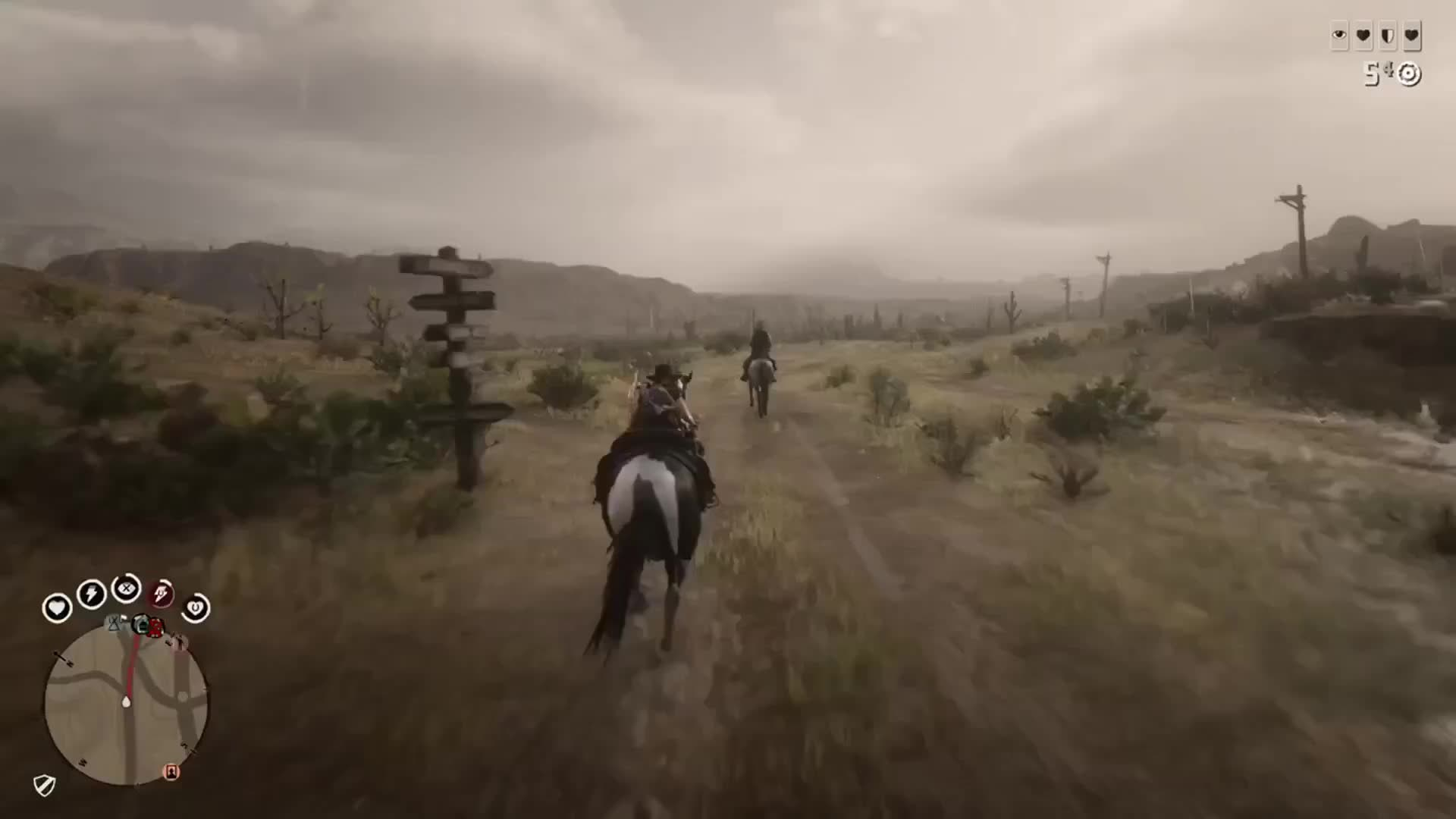 Red Dead Redemption: General - Didn't mean to ride on ya  video cover image 0