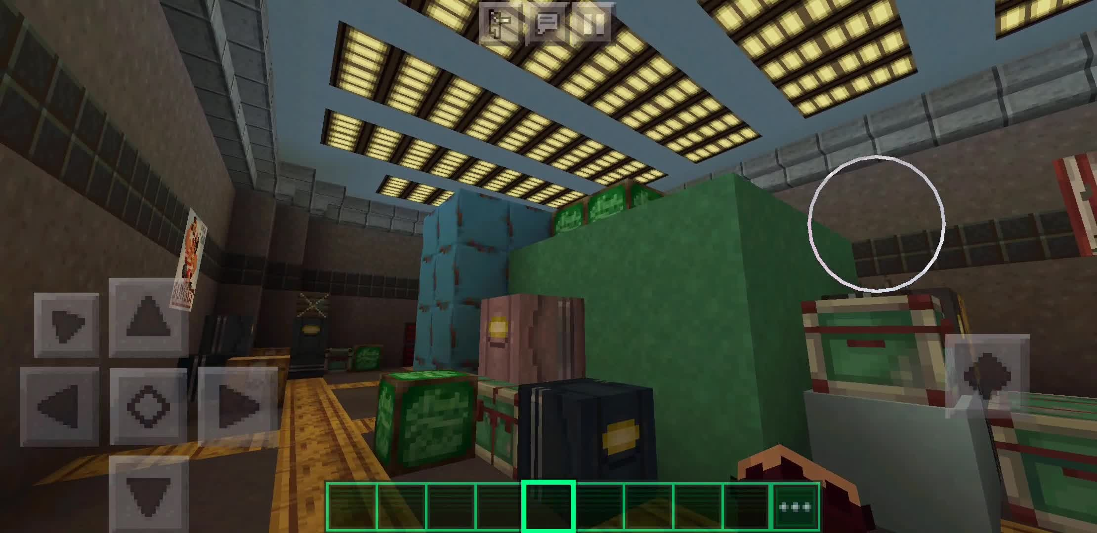 The Among Us Map On Mincraft Minecraft