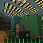 The Among Us Map on Mincraft