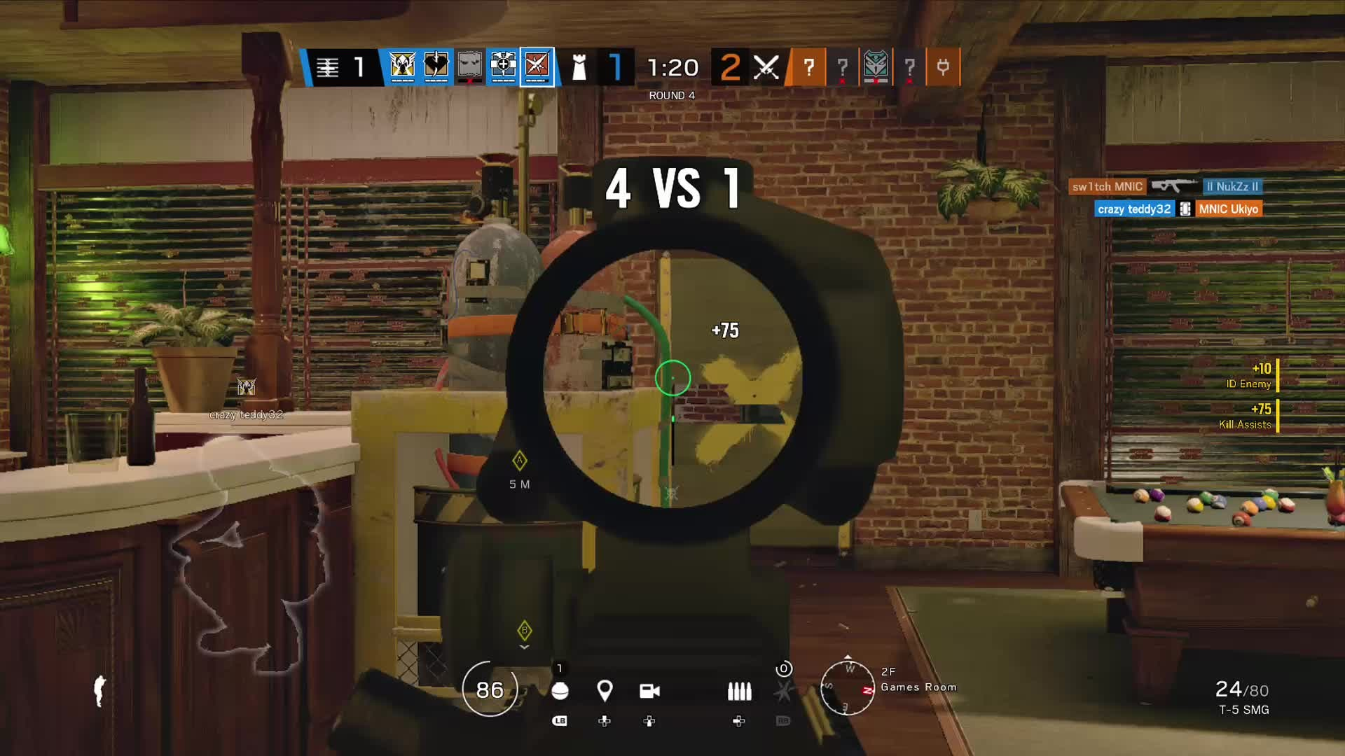 Rainbow Six: General - Ash quite literally flied away😂 video cover image 0