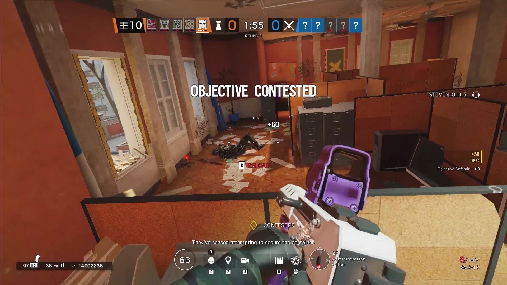 Rainbow Six: General - SMG12 play... you may love to see it #followformore❤ video cover image 1