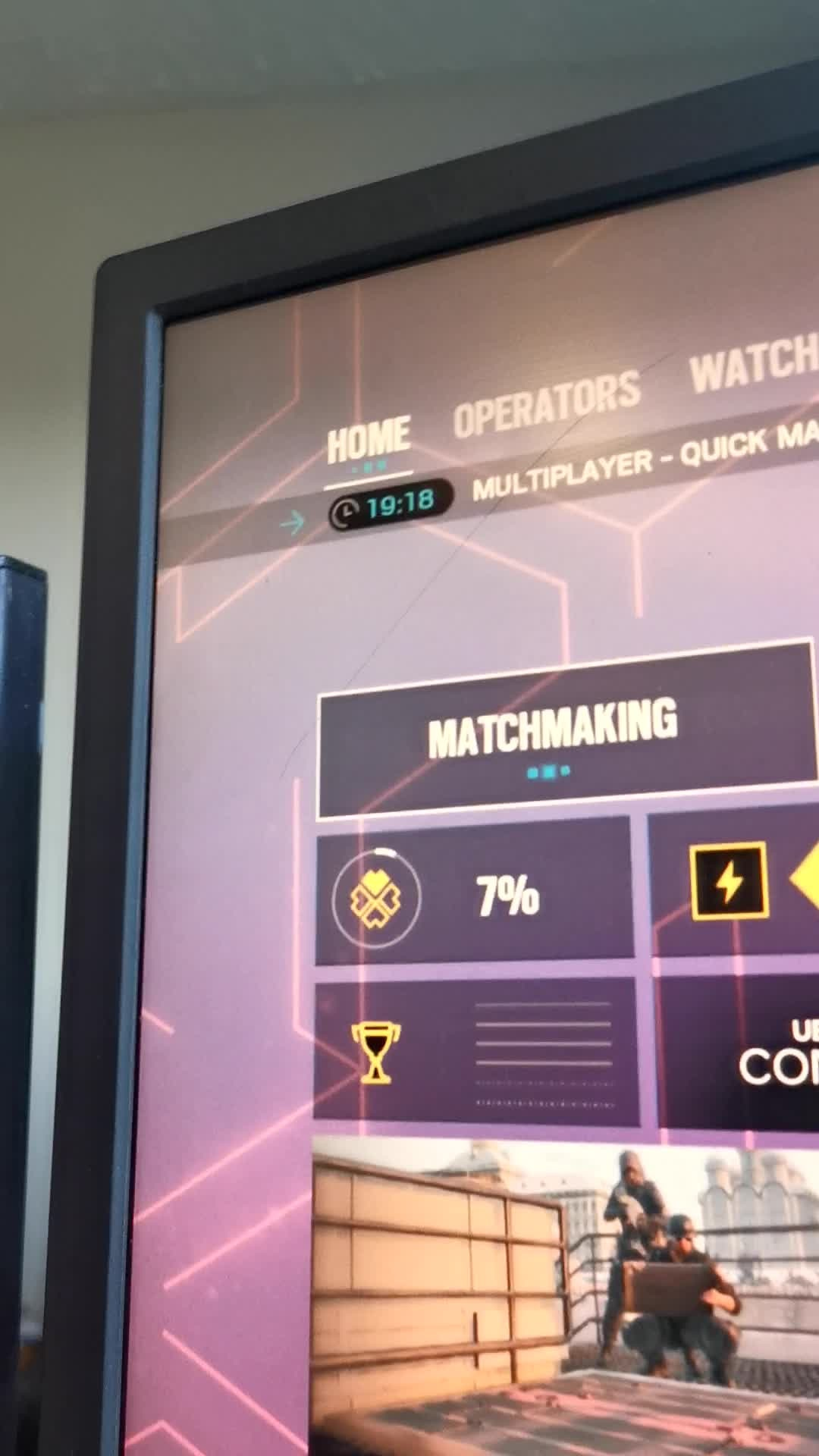 Rainbow Six: General - Matchmaking in the test servers tho  video cover image 0