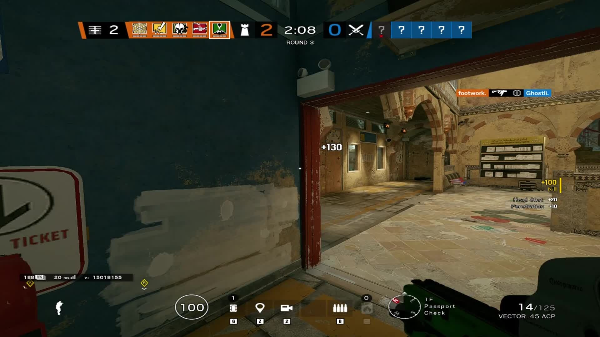 Rainbow Six: General - Nothing but quick flicks out here. video cover image 0