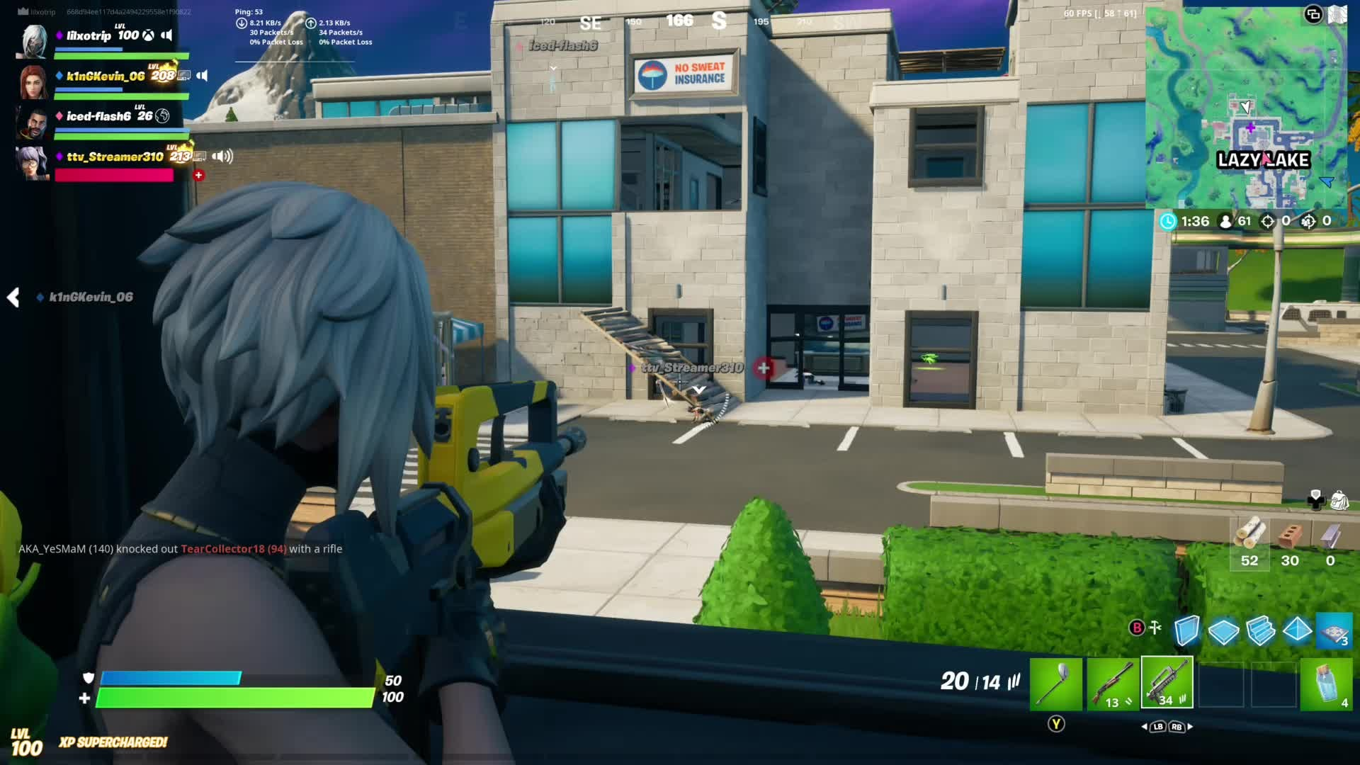 Fortnite: Battle Royale - timbers:shivered😰 video cover image 0