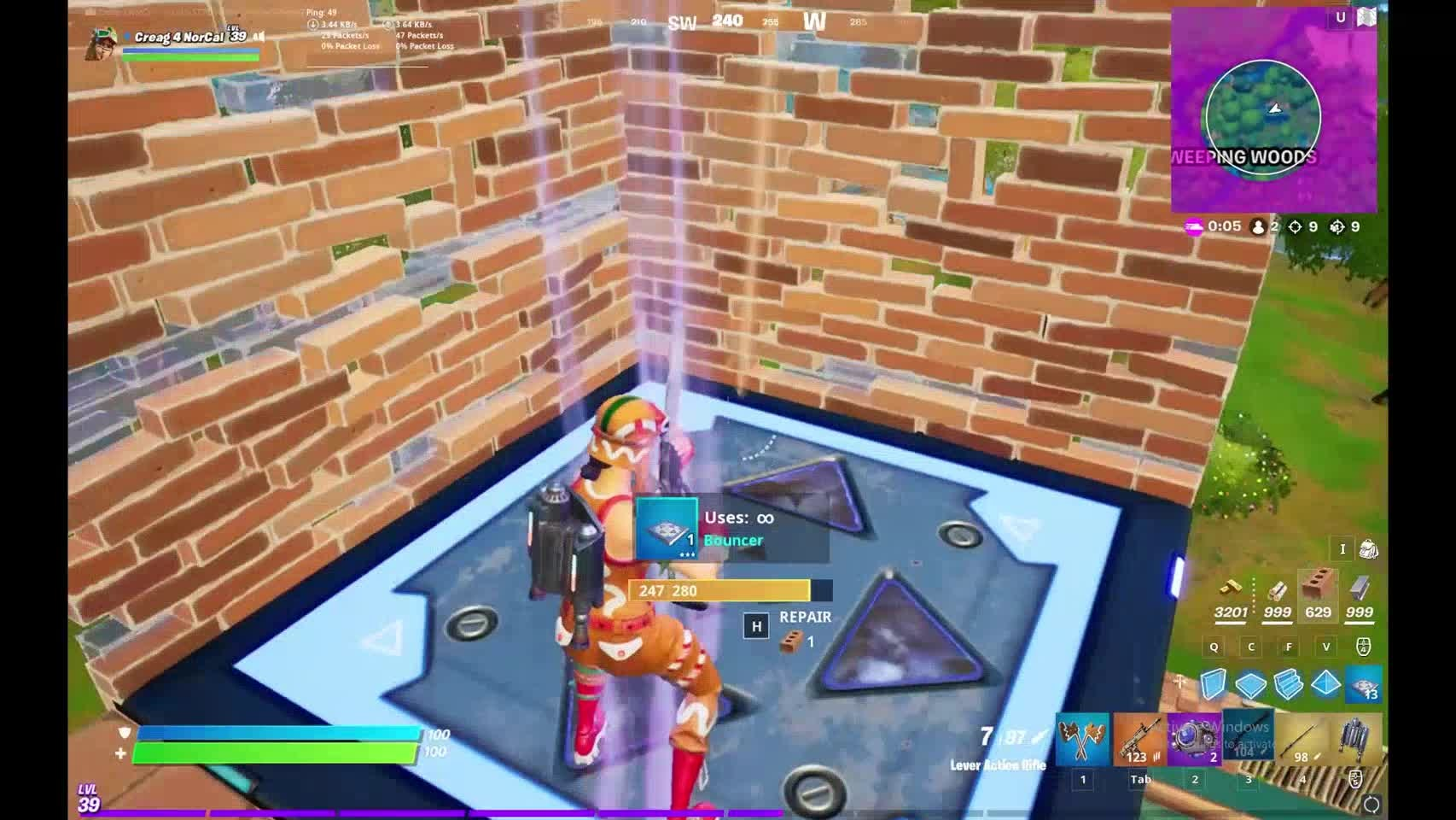 Fortnite: General - The new snipers are fun but only hitmarkers video cover image 1