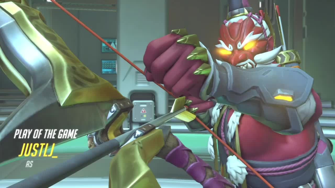 Overwatch: General - Got 3 play of the games in a row with Hanzo👍🏽 video cover image 0