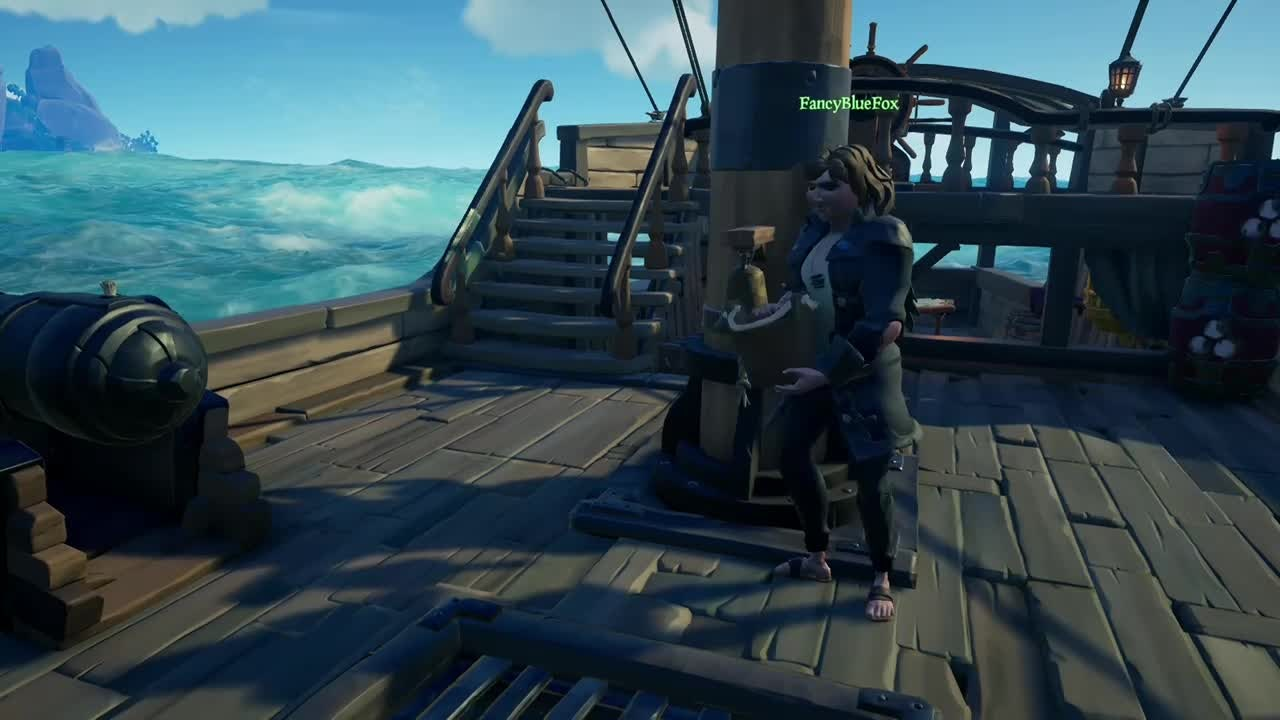 Sea of Thieves: General - wasn't expecting that 🤮🤧 video cover image 1
